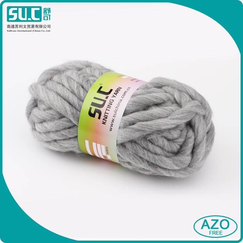 Wool Roving Yarn Chunky Roving Yarn For Blanket/hat Hand Knitting ...