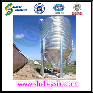 Storage Resin PVC pellets Plastic silo