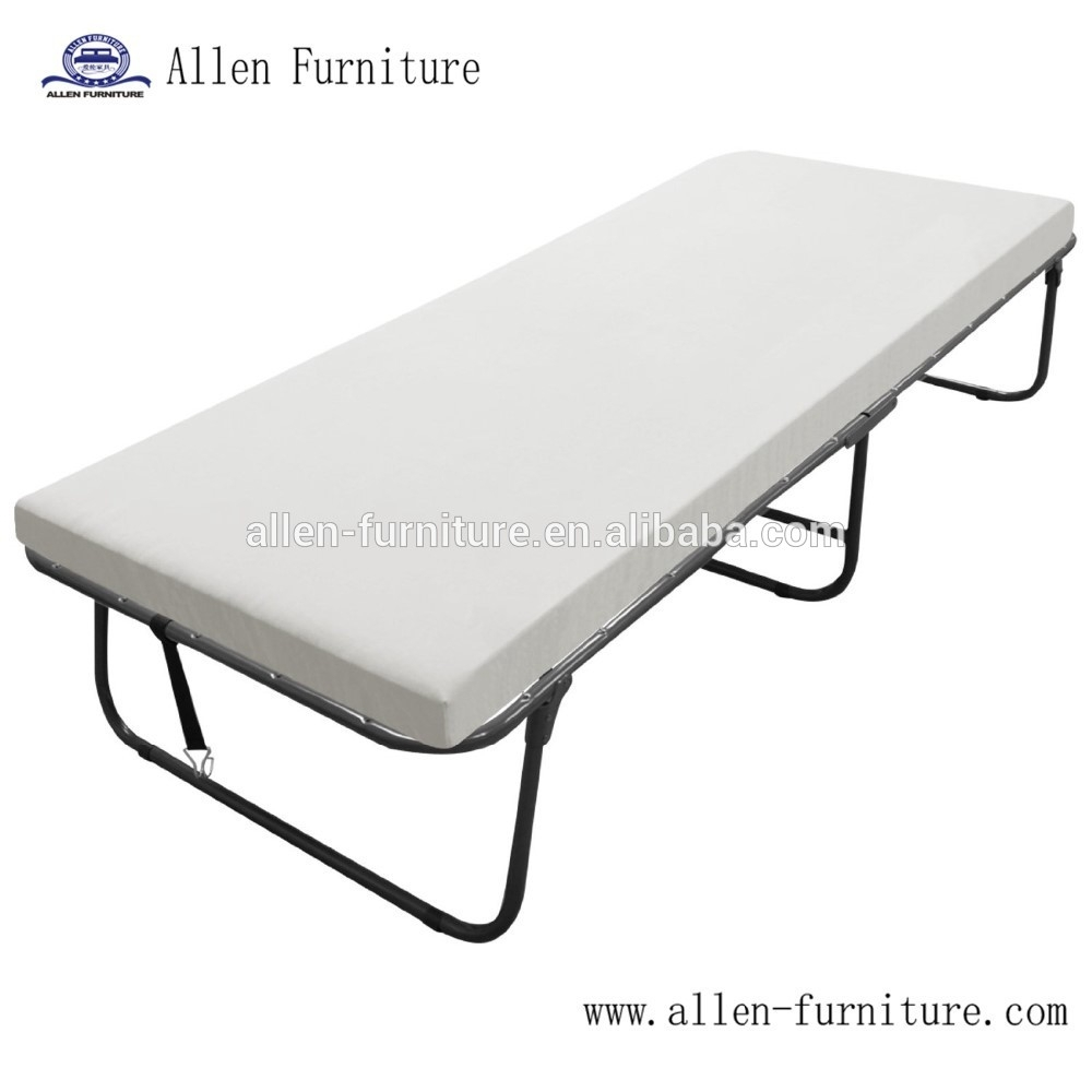Rollaway Folding Guest Bed With Mattress