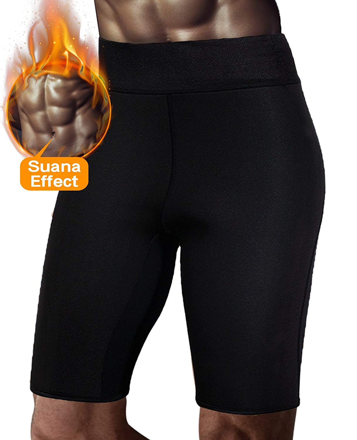 493d3f415a5 Get Quotations · SETENOW Men s Slimming Sauna Pants Hot Sweat Neoprene for Weight  Loss Fat Burning Body Shaper Sweat