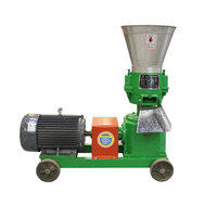 pelletizer poultry mini small grinder manual rice husk machinery mill making animal feed Pellet machine price