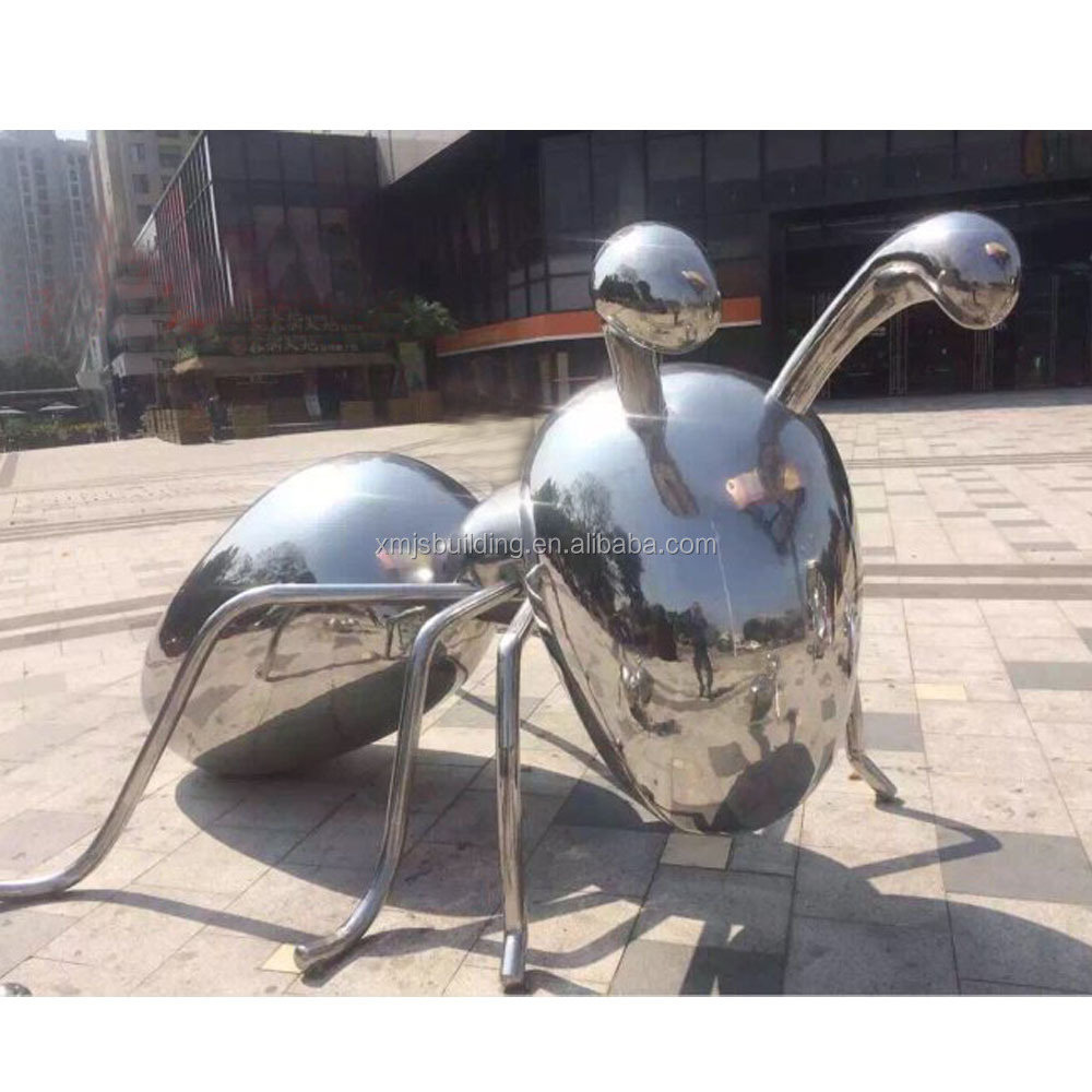 iron metal decorative garden ants stainless steel craft handmade art