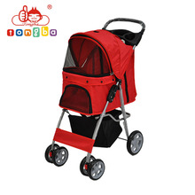 Foldable Pink Wholesale Pet Carrier Dog Pram For Sale