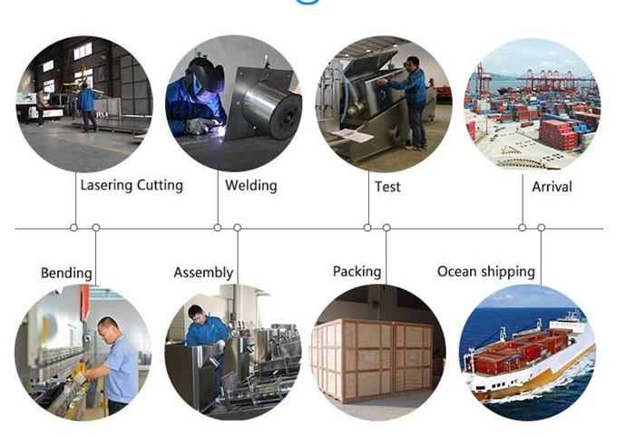 Volute screw press sludge dehydrator/Algae sludge dewatering machine manufacturer