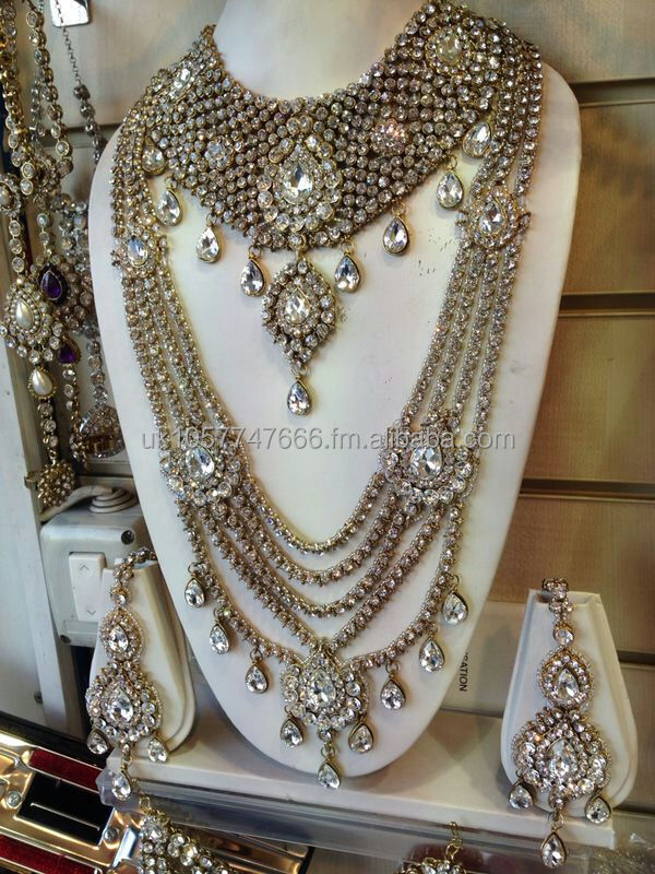 Indian Bridal Jewelry Sets Orange Wholesale Jewelry Set Suppliers
