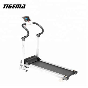 TIGEMA 2018 Newest Easy Foldable Home Motion Fitness Treadmill