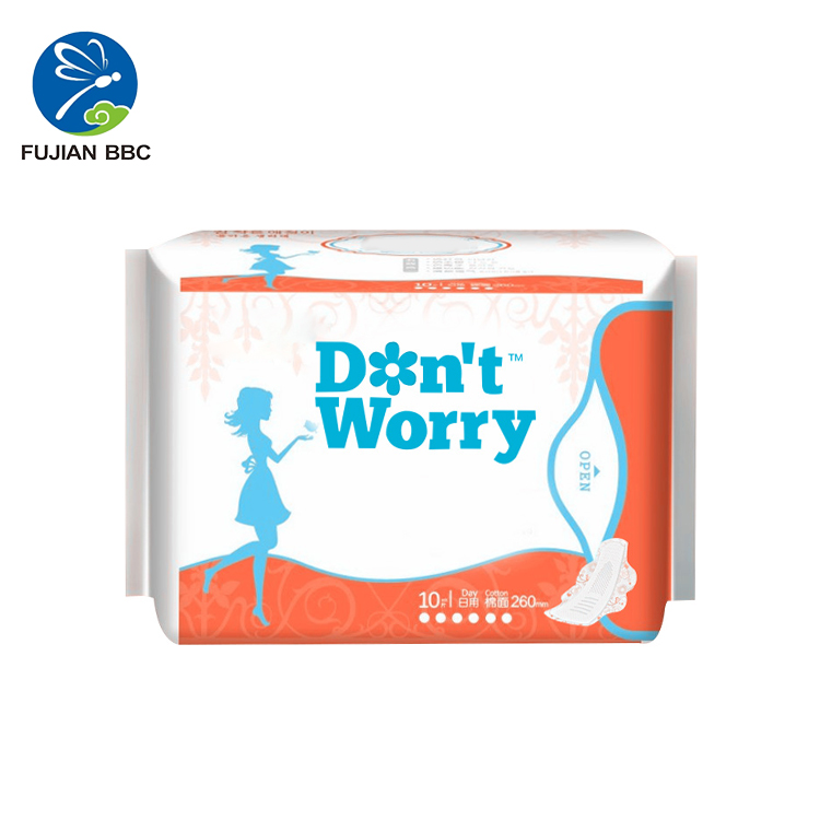 High quality lady sanitary napkin,sanitary pad with branded bag,famous women sanitary napkin