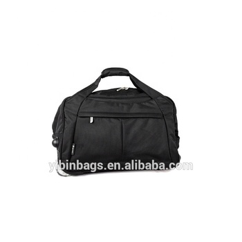 TRB020 Black Strong Durable Travel Trolley Bag