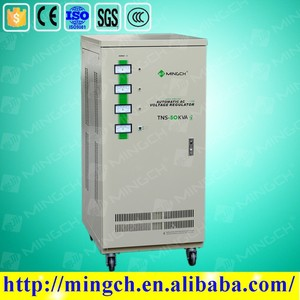 CE ROHS approved 60KVA automatic universal car voltage stabilizer