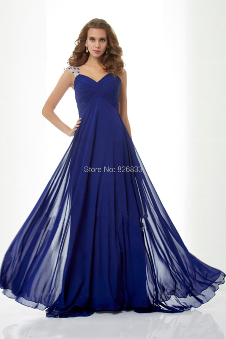Cheap Royal Blue Long Dress With Sleeves, find Royal Blue Long Dress ...