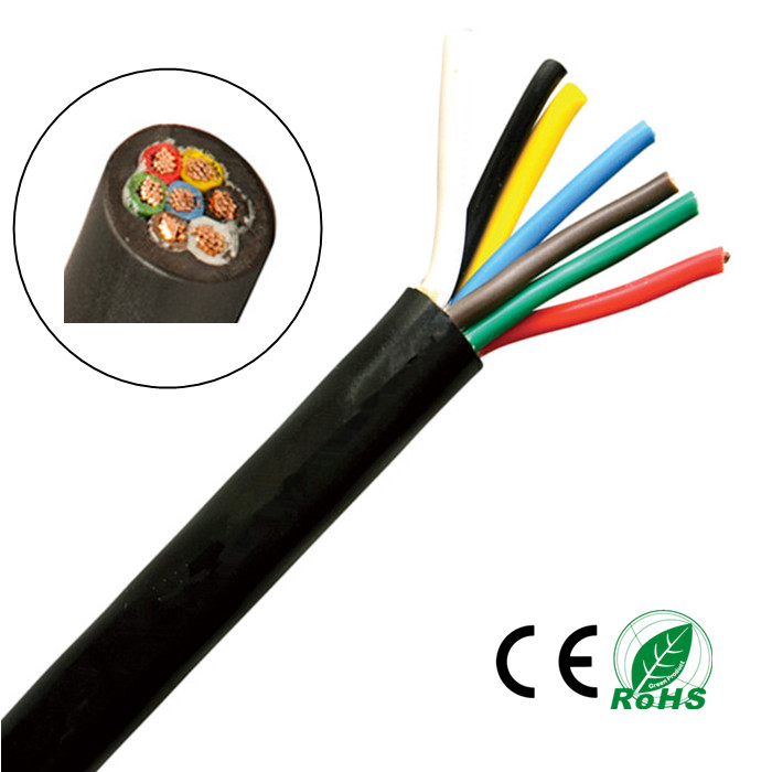Trailer Lighting Cable 7 Core X 0.65mm2 - Buy Trailer Lighting Cable ...