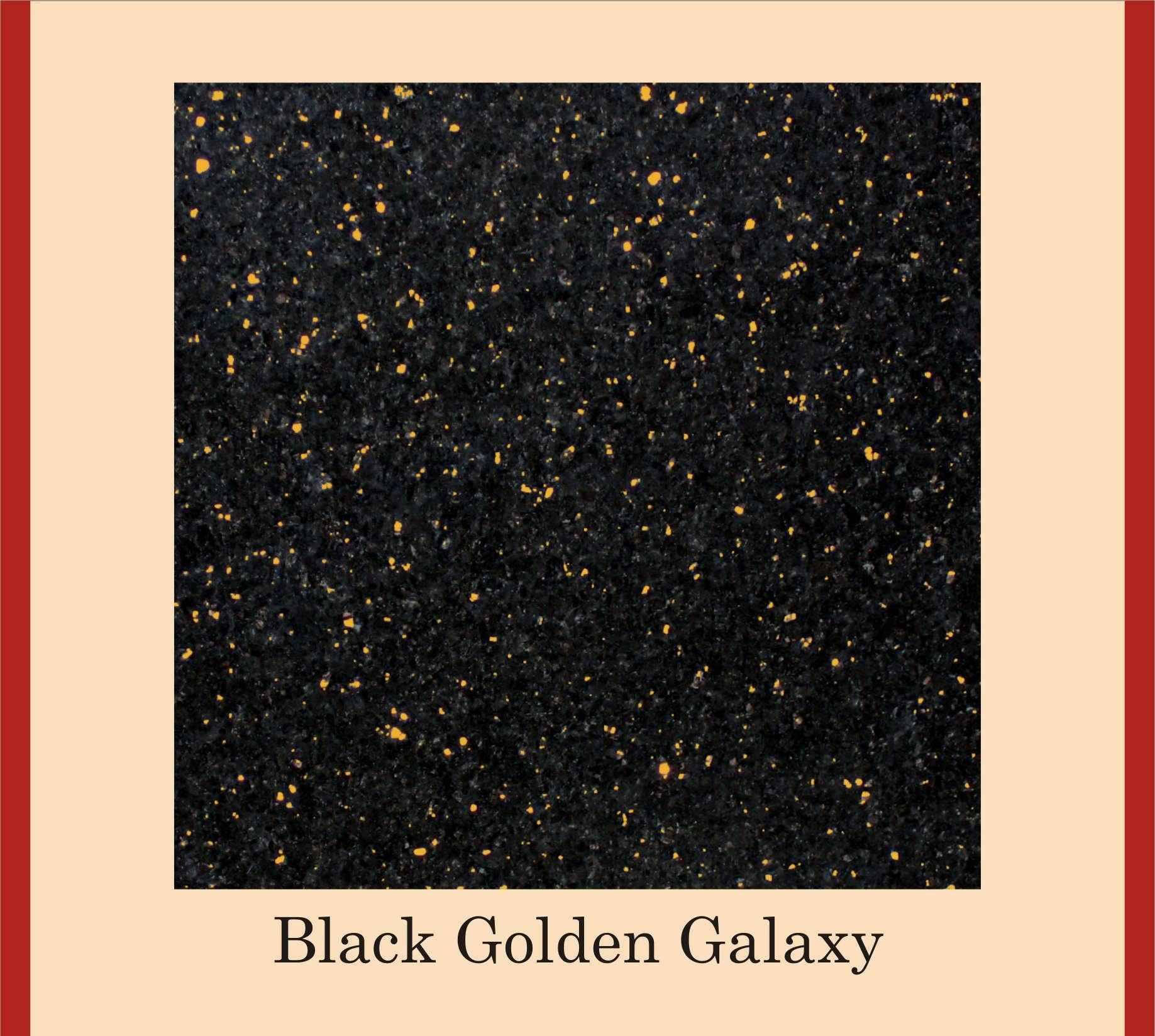 Golden galaxy granite the image kid has it for Granit galaxy