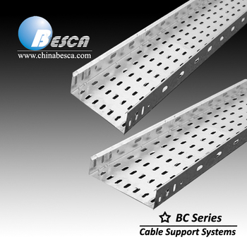 Ot Dipped Galvanized Perforated Cable Tray Unistrut Buy