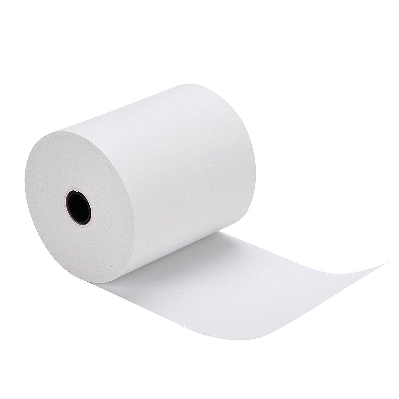 "200-Rolls 2 1/4"" X 50' Thermal Receipt Printer Paper for Verifone VX520, Ingenico ICT220 ICT250, First Data FD400, Nurit 8000 (200-Rolls)"
