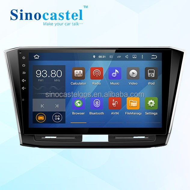 VW Passat 2015 2016 Car Parts CD DVD VCD DV MP3 MP4 MP5 Player With Canbus Bluetooth Mirror-Link TPMS DVB-T2 DAB+ DVR