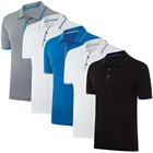 China wholesale sport dry fit mens polyester t shirts custom camisa polo masculina