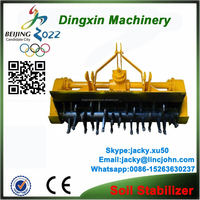 soil stabilizer mixing plant road equipment