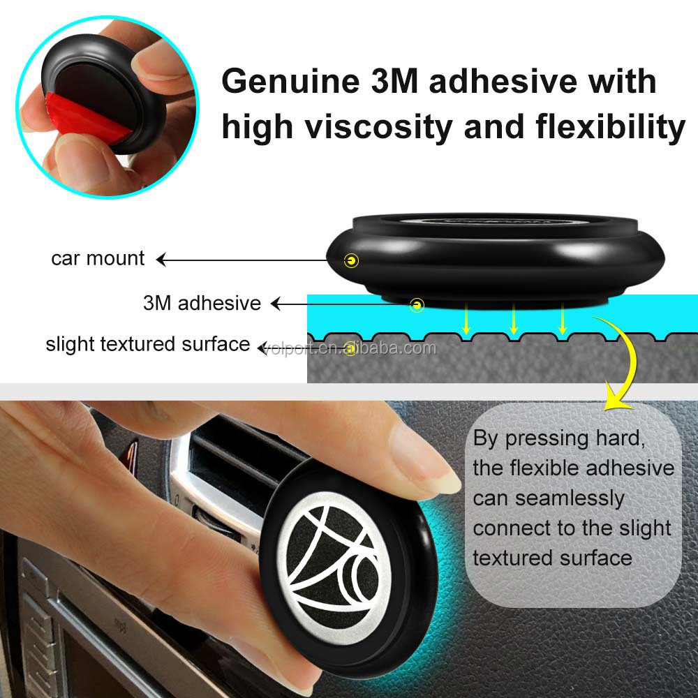 Universal 360 Degrees Magnetic phone mount Car Holder for iPhone 7 plus