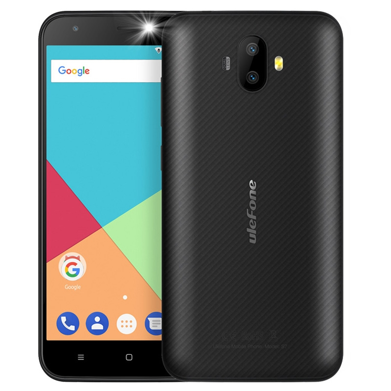Very Cheap IN STOCK 5.0 inch Ulefone S7, 1GB+8GB Android 7.0 MTK6580A Quad Core 3G Mobile phone