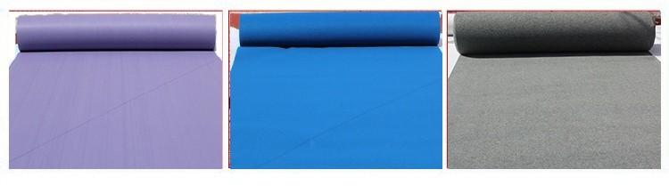맞춤형 레드 그린 화이트 웨딩 인쇄 바늘 펀치 폴리 에스터 카펫