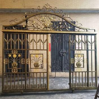 China Cheap Modern House Wrought Iron Main Gates Sy Ci004 China