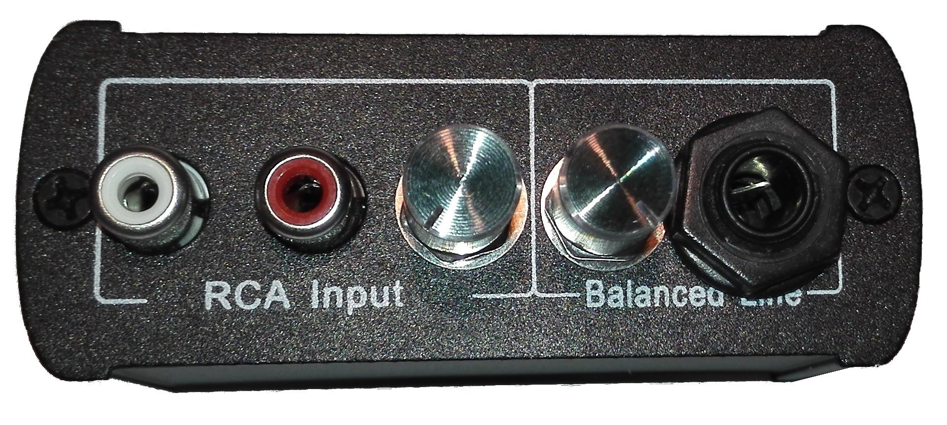 Di Box, Balanced 3 Channel Mixer : Microphone/instrument (Balanced Line), Stereo Music (2x Rca Input), Mono Output