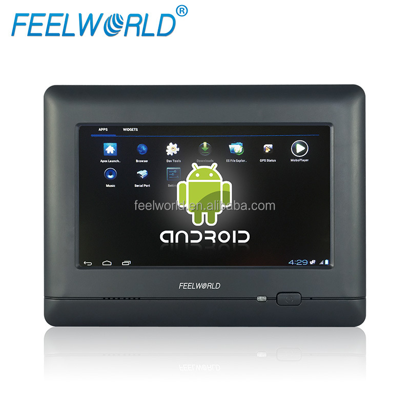 FEELWORLD tablet pc 7 인치 lcd touch screen computer 와 막 방식 RJ45 Port, RS232