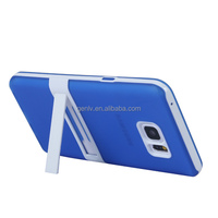Mobile Phone Shell Soft TPU Translucent Matte two in one Cellphone Case with stand For Note 5 Back Cover