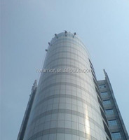 double skinned facade glass curtain wall