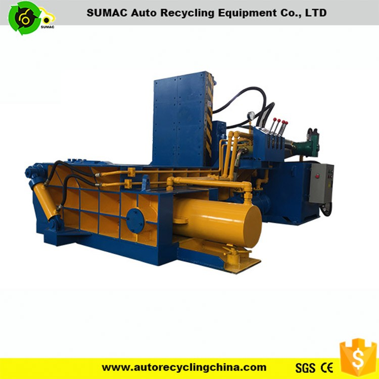 Manual control aluminum cans baling recycle machine