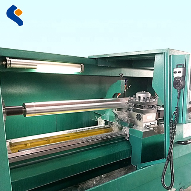 hard anodized aluminum rollers for plastic film production