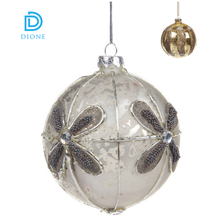 plastic christmas ball garland & christmas ornament ball garland