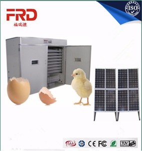 FRD-4224 Full automatic solar energy eggs incubator/chicken egg hatching machine for 4224 chicken eggs
