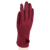 Fashion leather winter or autumn gloves for women