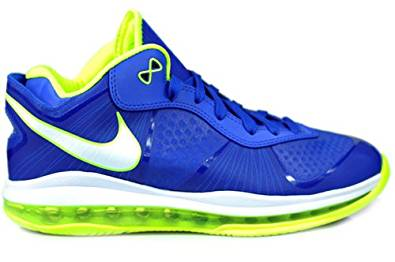 new product bc526 6a7aa Get Quotations · New Nike Lebron 8 V 2 Low Blue Volt Mens