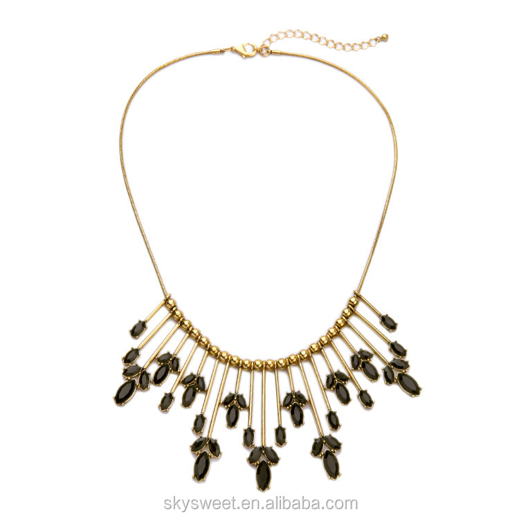 Newest distributed crystal necklace,fashionable skysweet jewelry(PR1078)