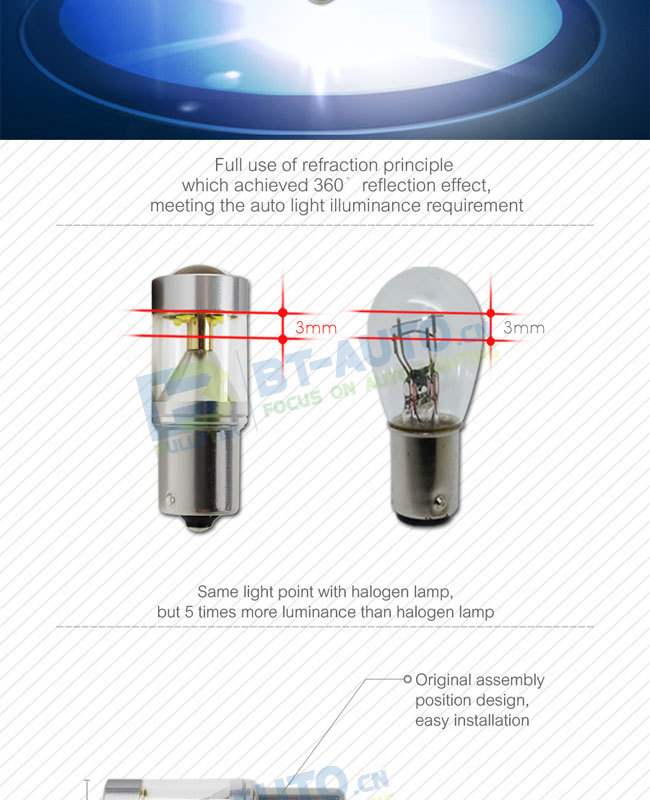 China Supplier Reverse Light Car Led Bulb 12 Volt H4 H7 H8 H9 H10 ...