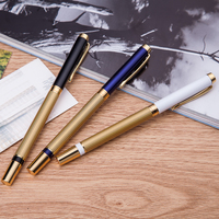 Best-selling bottom price pure metal clip ball point pen