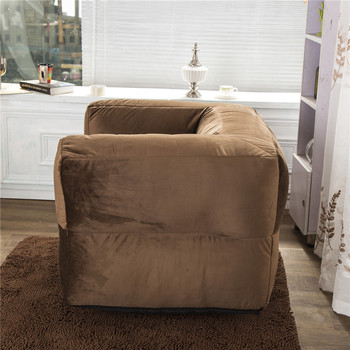 China Manufacturer Bean Bag Bed With Blanket And Pillow Built In