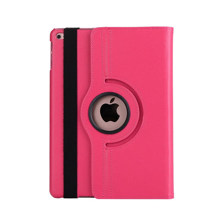 High Quality 360 degree rotating leather flip smart cover case for <strong>ipad</strong> 9.7 2017