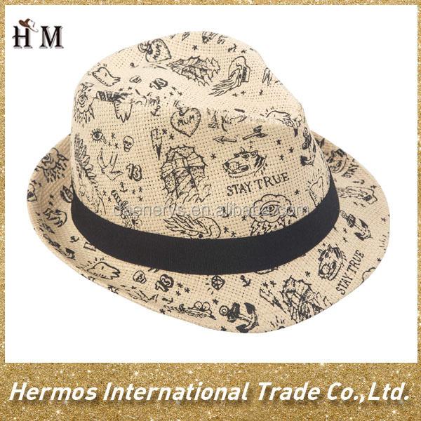 Contemporáneo Ganchillo Hombre Del Modelo Sombrero Libre Viñeta ...