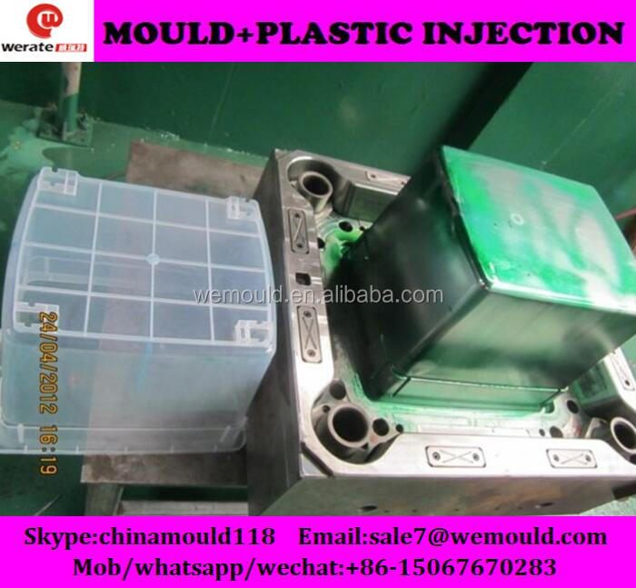 plastic injection mold for box