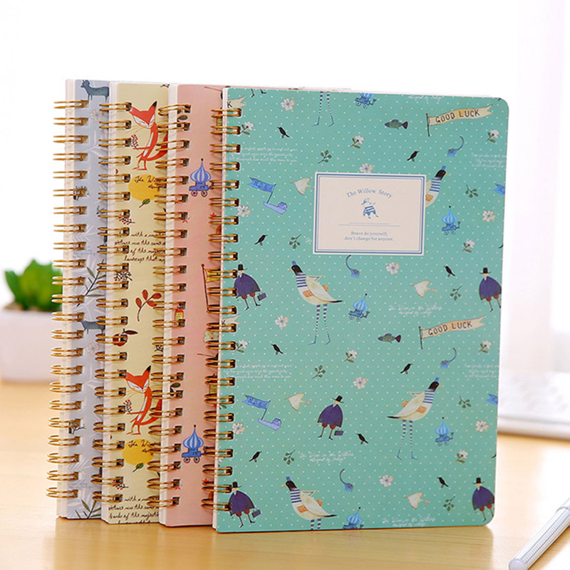 spiral bound notebook with dividers 8 subject spiral diary notebook