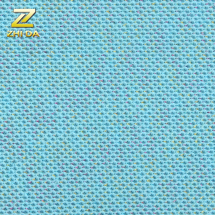 2020 hot sell 100% polyester  mesh fabric in knitted fabric to make bags