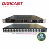 Professional Satellite Receiver DVBS2 IP decoder 24 in 1BISS Decryption Multiplexing IRD Broadcast Equipment