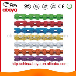 Multicolor Bicycle Chain