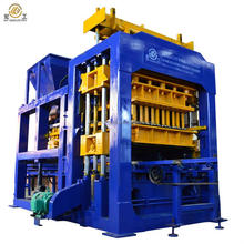 QT10-15C hollow line insulated slotted rectangular paver block making machine
