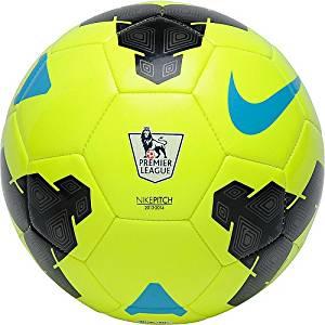 NIKE Pitch Premier League Soccer Ball - Light Green