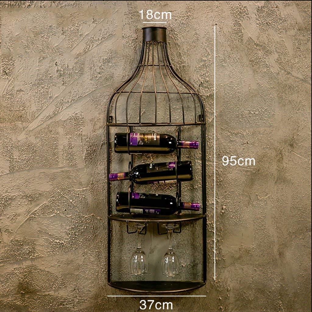 Buy MoDi Wall-mounted Wine Glass Holder Creative Wine ...