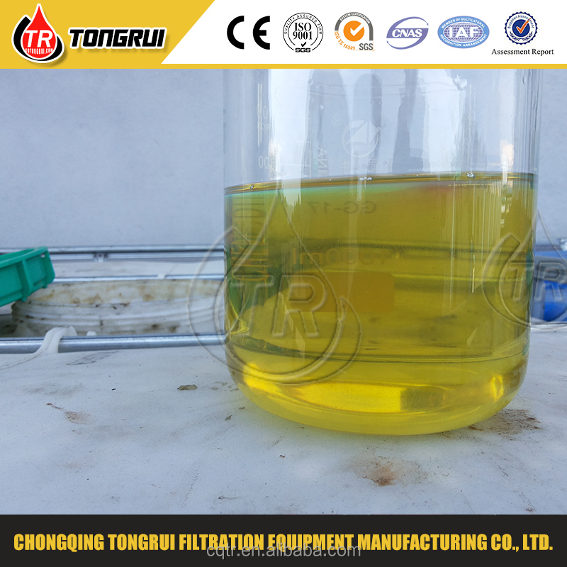 Hot selling machine vacuum distillation lubricant oil filter for base